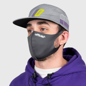 OFFICIAL NANO-POLYURETHANE FACE MASK (C GREY)