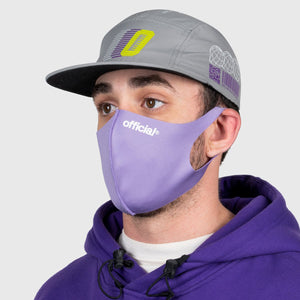 OFFICIAL NANO-POLYURETHANE FACE MASK (PURPLE) Fサイズ