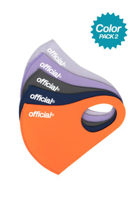 5 COLOR PACK 2 - OFFICIAL NANO-POLYURETHANE FACE MASK