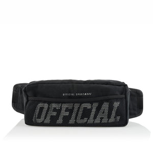 OFFICIAL MELROSE SHOULDER / HIP BAG - BLACK