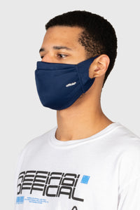 OFFICIAL PERFORMANCE FACE MASK - NAVY 再入荷しました