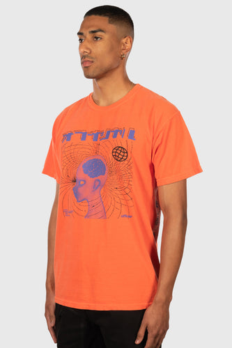 OFFICIAL SPIRIT INTO MATTER T-SHIRT (BRIGHT CORAL)