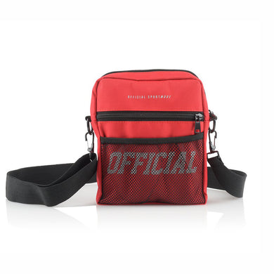 OFFICIAL MELROSE UTILITY BAG - RED