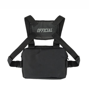 OFFICIAL MELROSE CHEST UTILITY - BLACK