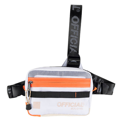 VAPOUR TRISTRAP CHEST UTILITY - CLOUD WHITE