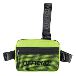 OFFICIAL MELROSE 2.0 TRI-STRAP - Hi-Vis YELLOW