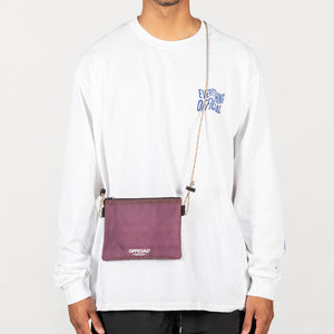 VAPOUR MINI SATCHEL - BURG