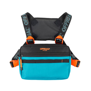 OFFICIAL CHEST UTILITY - BLACK/TEAL