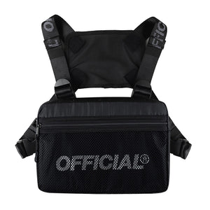 OFFICIAL MELROSE 2.0 CHEST UTILITY - BLACK