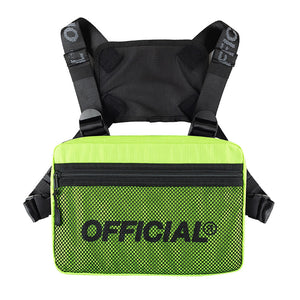 OFFICIAL MELROSE 2.0 CHEST UTILITY - Hi-Vis YELLOW