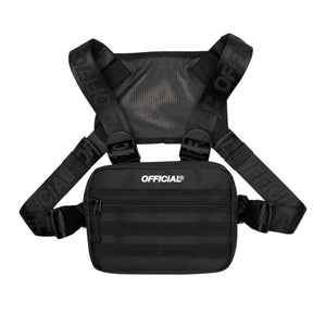 MINI MOLLE CHEST UTILITY - BLACK