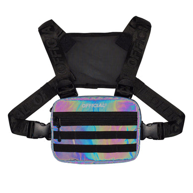 OFFICIAL DICHROIC SQUID MINI CHEST BAG