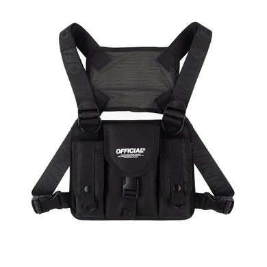 TACTICS CHEST UTILITY BAG - BLACK