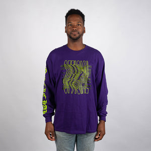 OFFICIAL Tripped Longsleeve - PURPLE