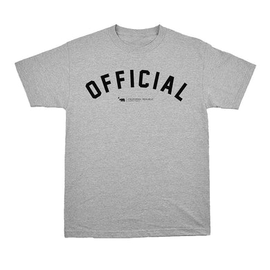 Dole Arc Tee  - Heather Gray