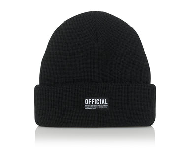 EVERYDAY SPEC SKATE BEANIE - BLACK