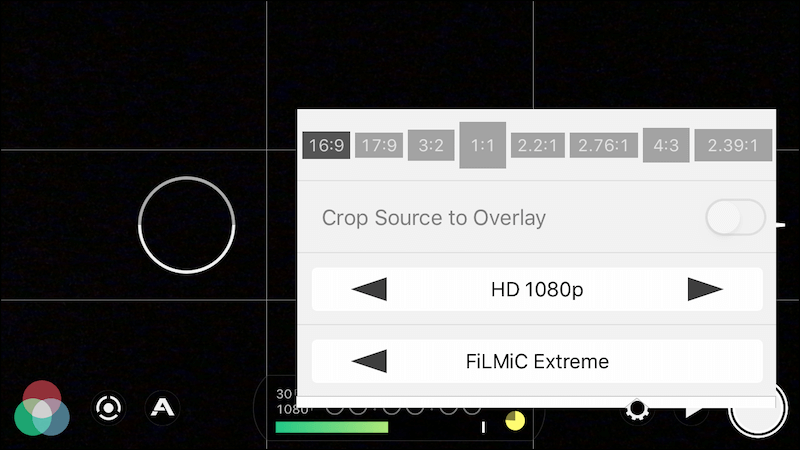 Filmic Pro Video Quality