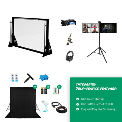 Extra Large Tabletop Lightboard Studio Package