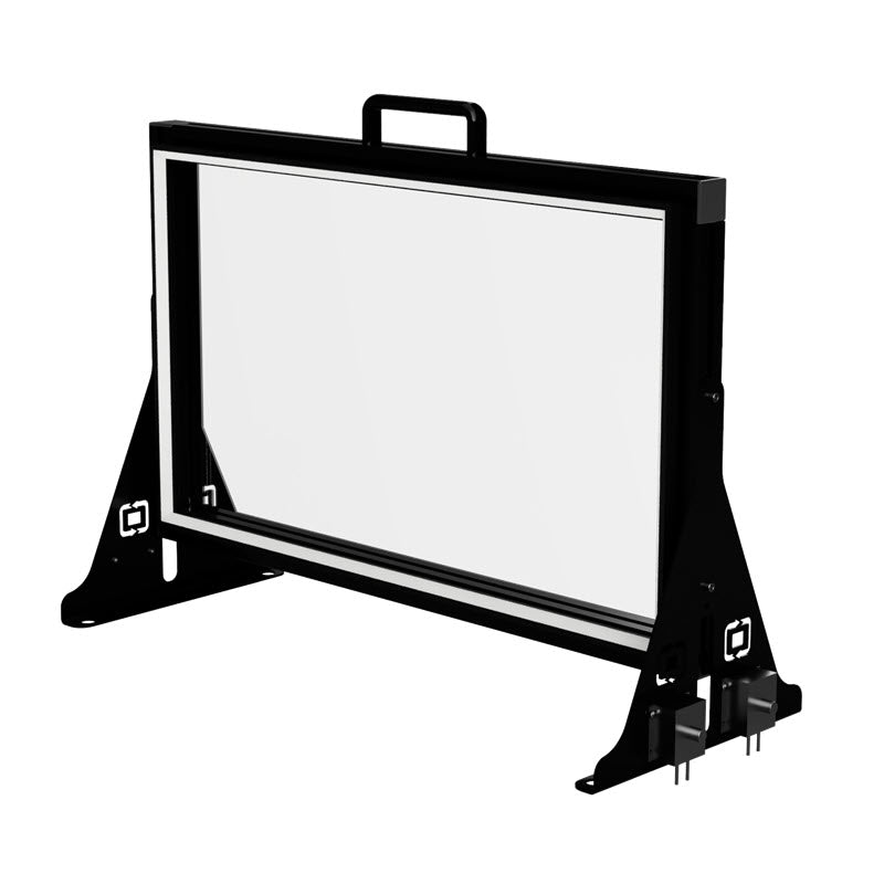 Small 34 Inch Tabletop Lightboard With Presenter Lights