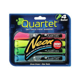 Package of Quartet Neon Dry Erase Paint Markers for Lightboard