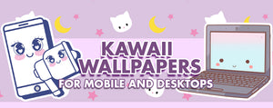 30 Free Kawaii Wallpapers (for Mobile & Desktops)