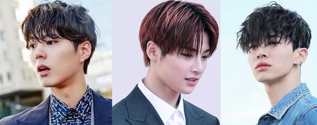 kpop men hairstyles