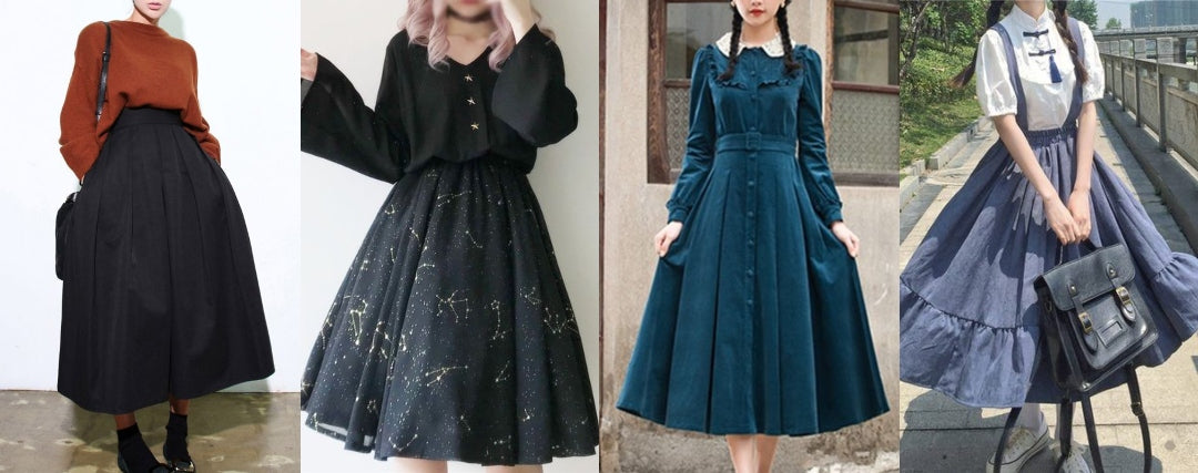 modern vintage outfits