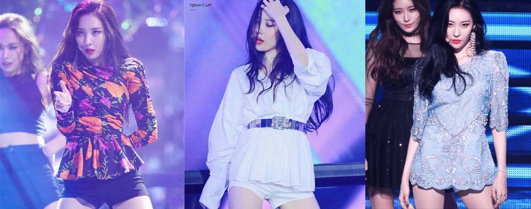 korean idol sexy classy outfit
