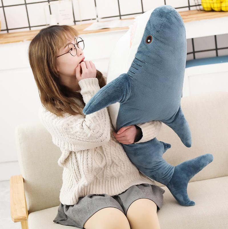 Kawaii Big Shark Plushie