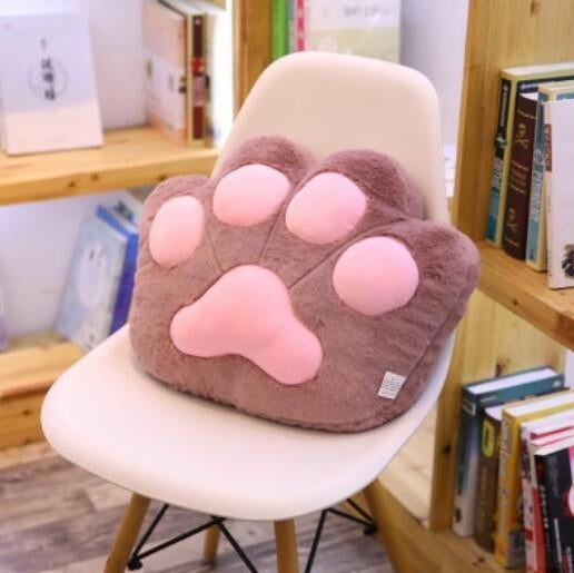 Kawaii Cat Paw Pillow Plush
