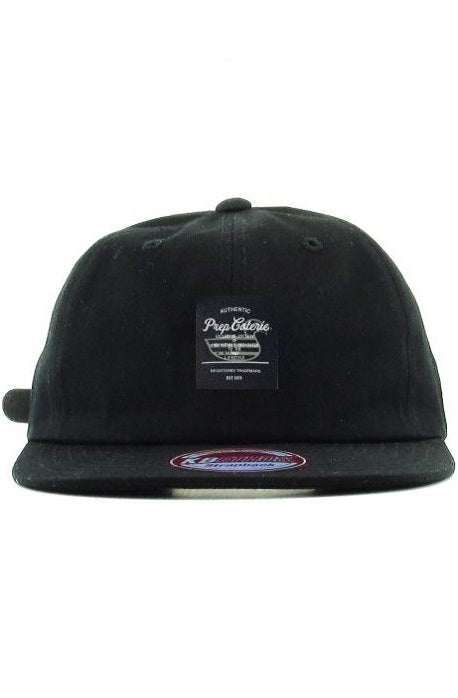 PC LABEL STRAPBACK HAT
