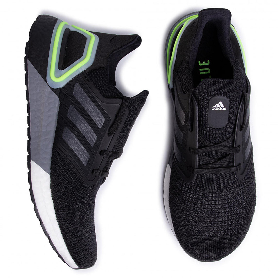 UltraBoost 20 'Night Metallic Signal Green'
