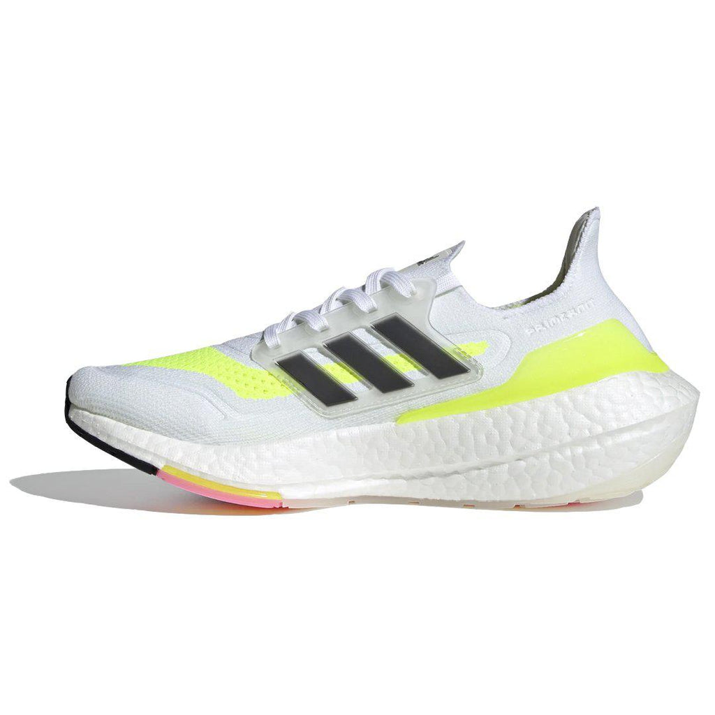 UltraBoost 21 'White Solar Yellow'