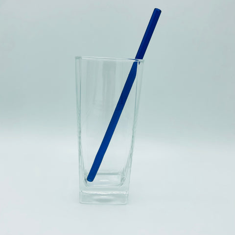 "Surfside Sips 8"" Glass Drinking Straw"