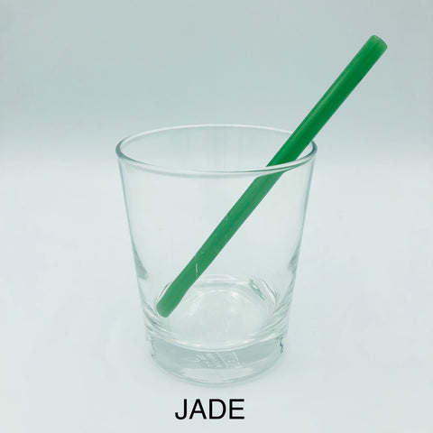 "Surfside Sips 6"" Glass Drinking Straw"