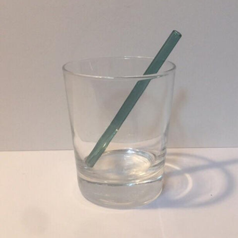 "Surfside Sips 5"" Glass Drinking Straw"