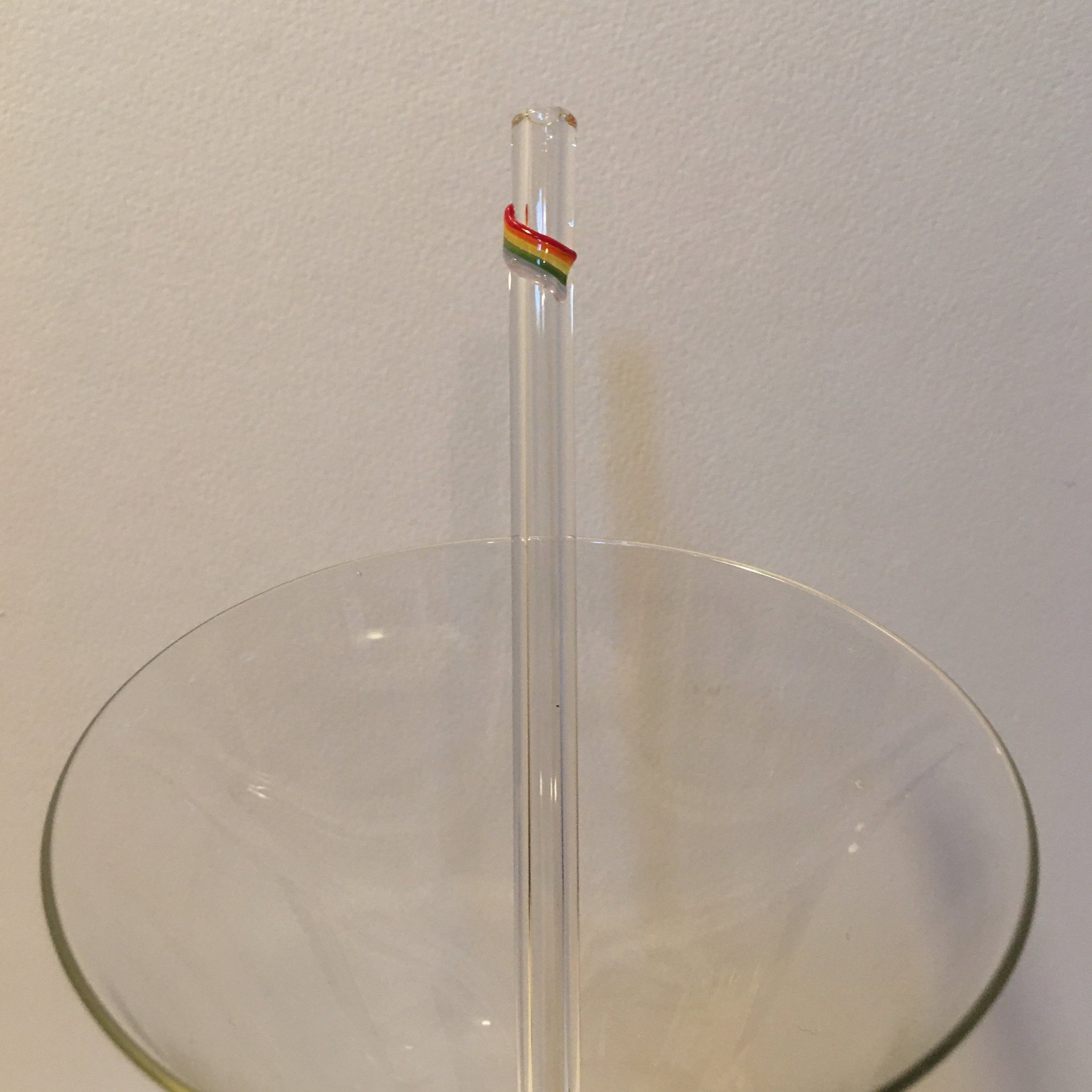 Pride Flag Rainbow Straw