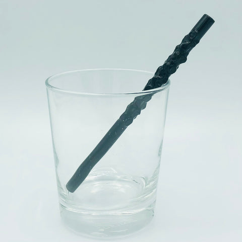 """Dragon Glass"" Straw"