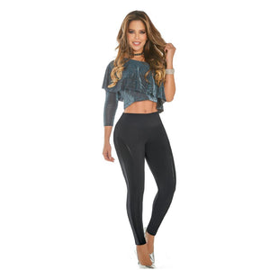 Leggings Casual Levantacola Modelo 175