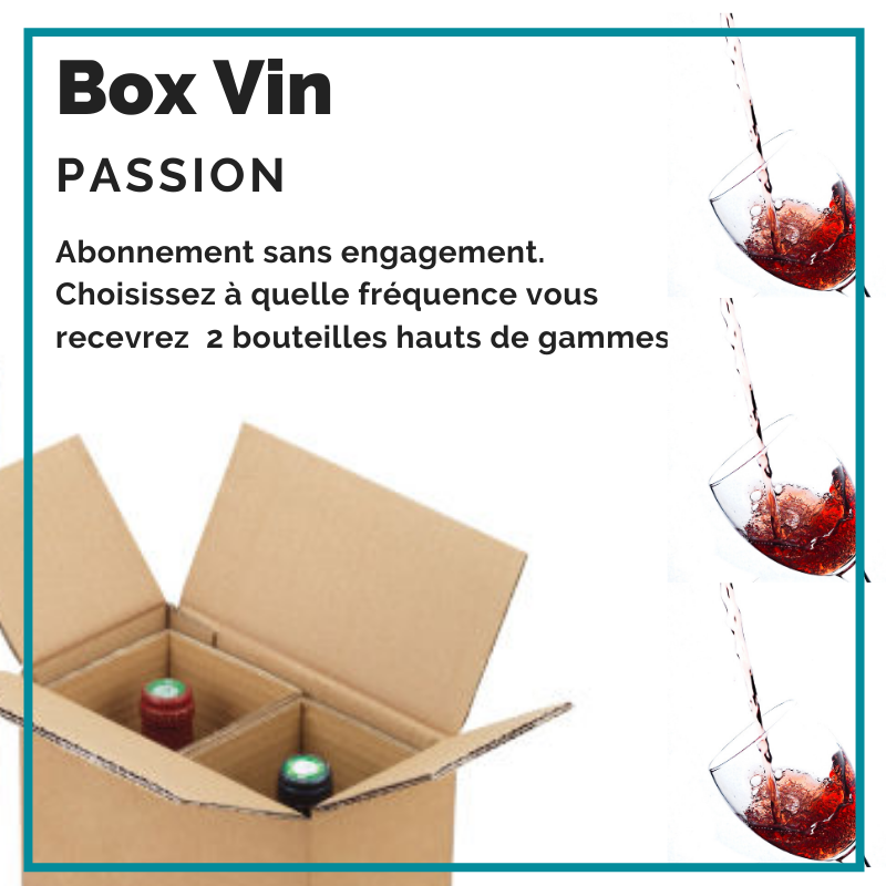 BOX VIN PASSION by FRESKOA Store - FRESKOA STORE