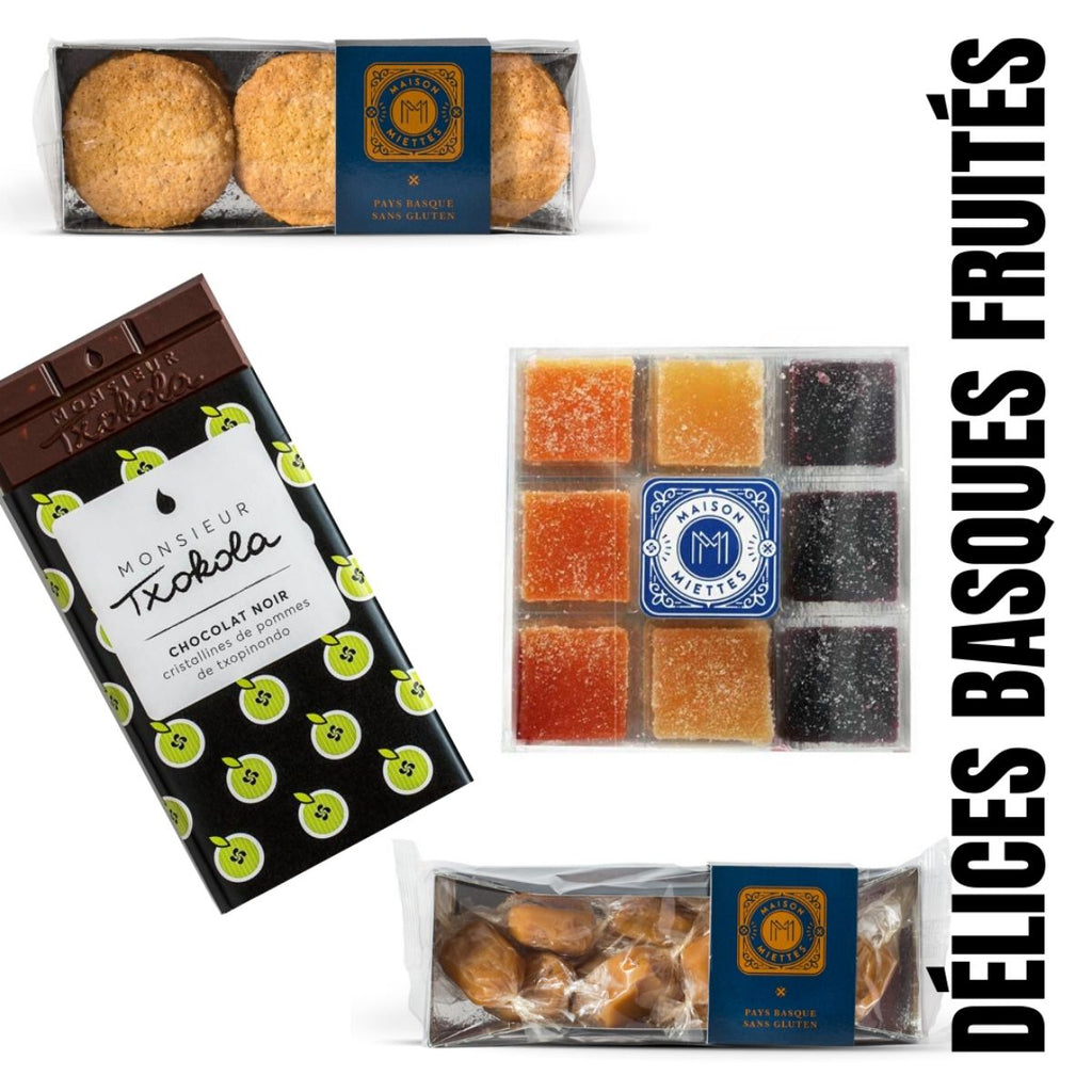 Coffret cadeau DELICES BASQUES FRUITES by FRESKOA Store - FRESKOA STORE