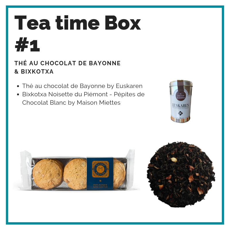 Tea time Box #1 by FRESKOA Store - FRESKOA STORE