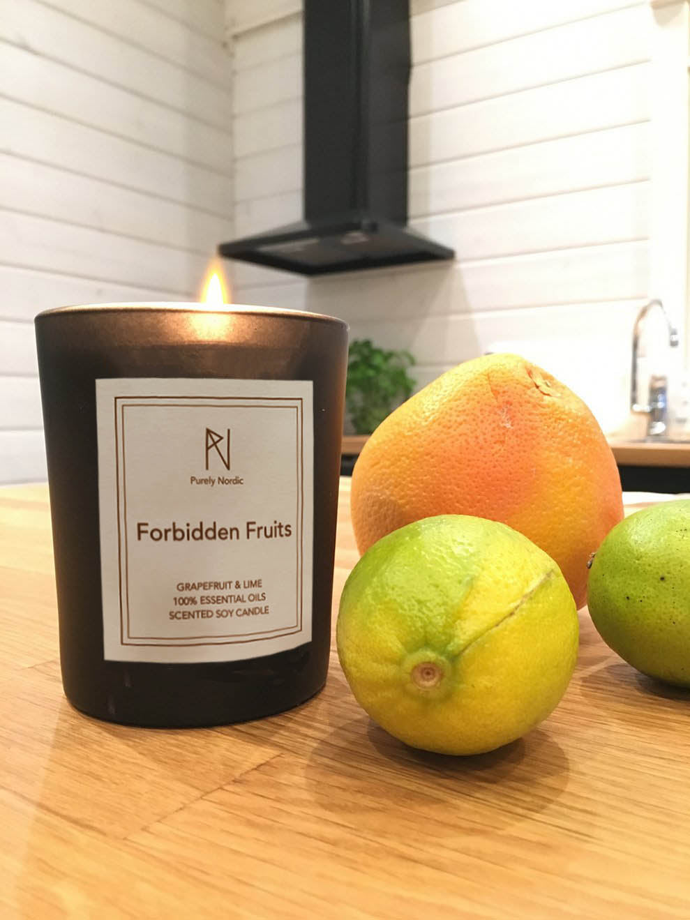 Forbidden Fruits - Grapefruit & Lime