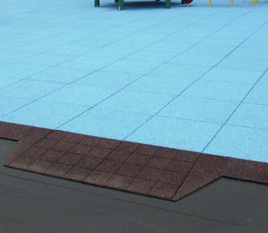 "2 1/2"" and 4 1/2"" ADA Ramp Side Reducers (sold in quantities of 2) - Flooring Mats and Turf"