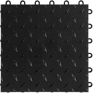 "Swisstrax - Diamondtrax Home 12""x12"" tile 50 Pack - Diamondtrax Home - Flooring Mats and Turf"