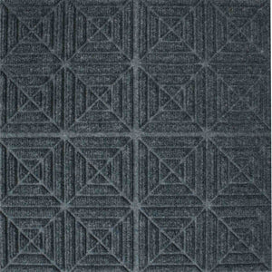 "220 WaterHog Tiles 1/4"" Geometric Pattern - Flooring Mats and Turf"