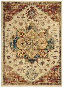 Nourison Traditional Antique TRQ01 Area Rug - Flooring Mats and Turf