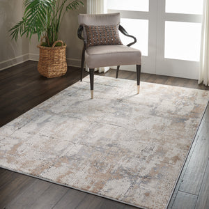 Nourison Rustic Textures RUS06 Oversized Textured Rug - Flooring Mats and Turf