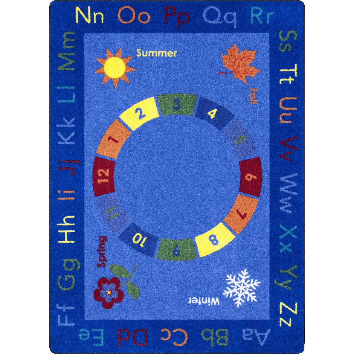 Learn Through the Seasons Area Rug - Flooring Mats and Turf