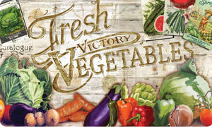 Fresh Victory Vegetables - Flooring Mats and Turf